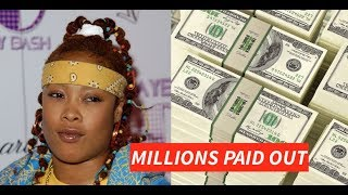 Da Brat HAS to Pay Extra $1000000 Million Dollars to Cheerleader of 2007 Bottle Incident