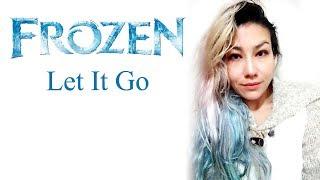 Let it go - Frozen cover by Esthibaliz Rojas