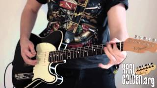 Garden Of Eden (Guns N' Roses) Full band - Guitar/Bass/Solo/Drums (Karl Golden)