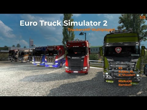 Euro Truck Simulator 2  TruckersMP  Part 55 Livestream 02122017