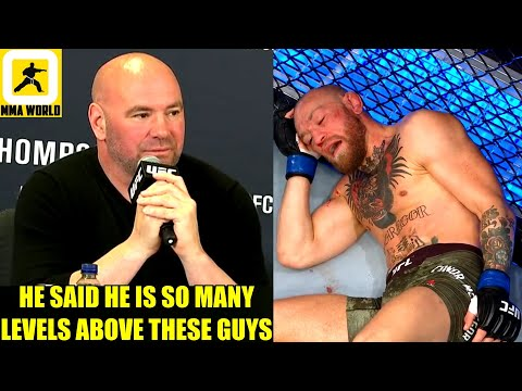 Dana White reveals what Khabib told him after Conor McGregor got knocked out by Dustin Poirier,Nate