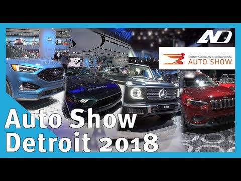 Mercedes Clase G, Edge ST, Mustang Bullitt, Jeep Cherokee, Hyundai Veloster y BMW X2 #NAIAS2018