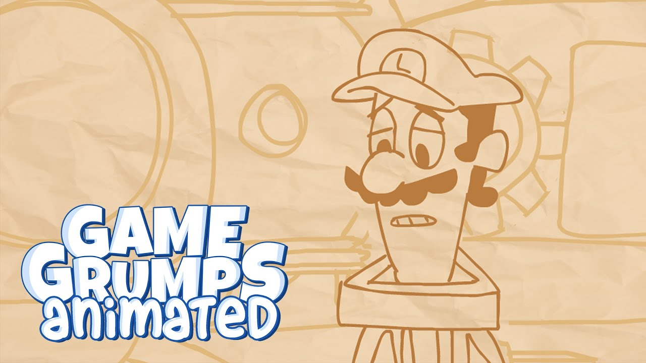Game Grumps - Mario's Brother (by Jae55555) - Game Grumps Animated