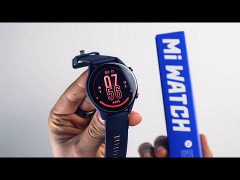 Xiaomi Mi Watch (Unboxing a návod na spárování od XM.cz)