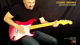 Claudio Massafra plays Pink Floyd - On The Turning Away guitar Solo
