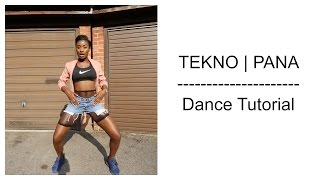 Tekno - Pana (Dance Tutorial Video) | Chop Daily
