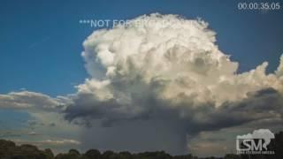 7-19-16 North Carolina Microburst - Severe Storms