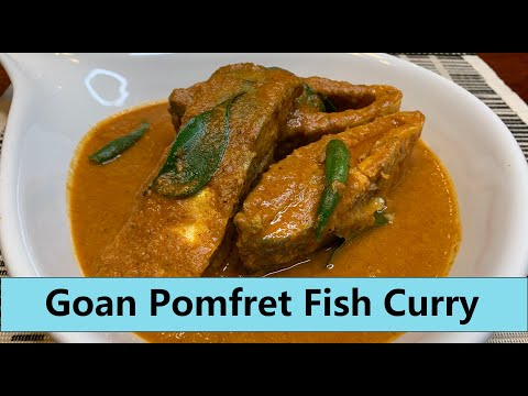 Shelter-At-Home | Using up freezer foods |GOAN POMFRET FISH CURRY | Show Me The Curry