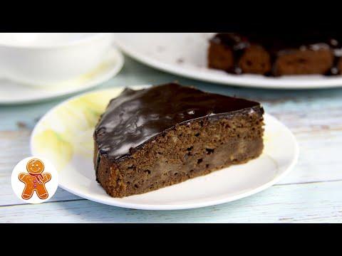 Шоколадный Яблочный Пирог по Вкусу как Брауни