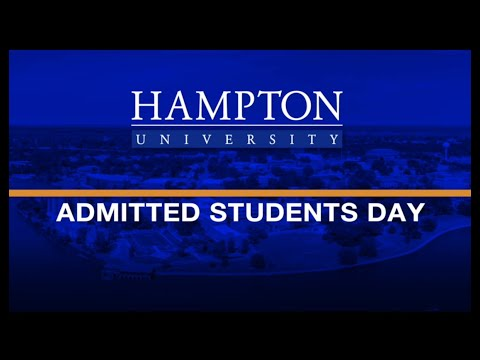 Admitted Student Day Program