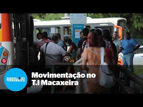 Movimentação no Terminal Integrado da Macaxeira