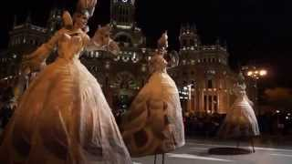 "PARADE CARNAVAL MADRID 2015  ""Mundo D  Quijote"".  EVENTUS CULTURE GROUP ® Pasacalles Teatro"