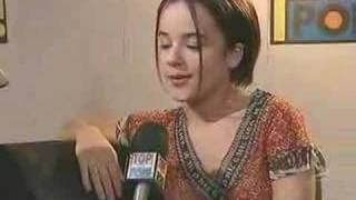 Alizée - funny interview in English