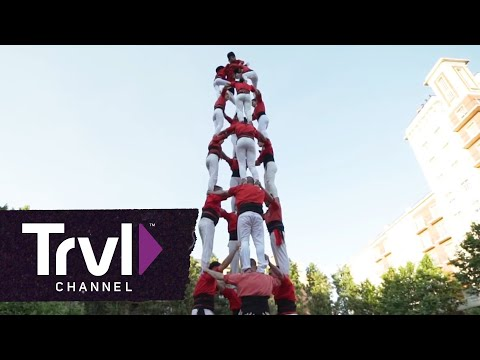Human Tower Tradition - Travel Channel