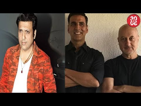 Govinda Thanks Rishi Kapoor | Anupam Kher Gives Back To A Foreign Journalist