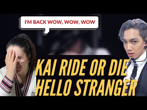 Vidéo REACTION TO KAI LIVE STAGE  HELLO STRANGER & RIDE OR DIE my top songs ENG