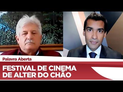 Airton Faleiro fala do Festival de Cinema Latino  Americano de Alter do Chão - 14/09/21