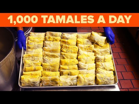 A 100-Year-Old Tamale Recipe From The Oldest Mexican Restaurant In L.A. ? Tasty