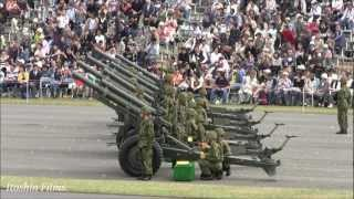 [HD] 1812 Overture - Tchaikovsky - with JGSDF 105mm Cannons 2010