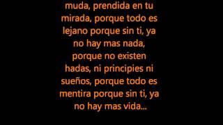 Floricienta - Por qué. Lyrics