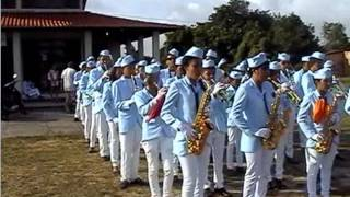 ESCOLA DE MUSICA ROSA DE SARON  Cedral MA   Aquecimento da Banda 2