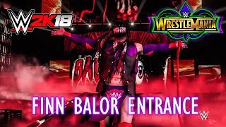 Wrestlemania 34: Finn Balor Entrance