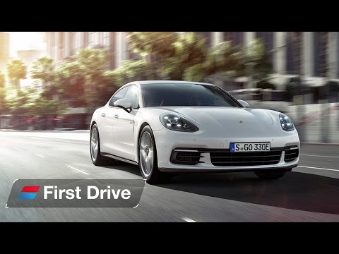 2017 Porsche Panamera 4 E Hybrid first drive review