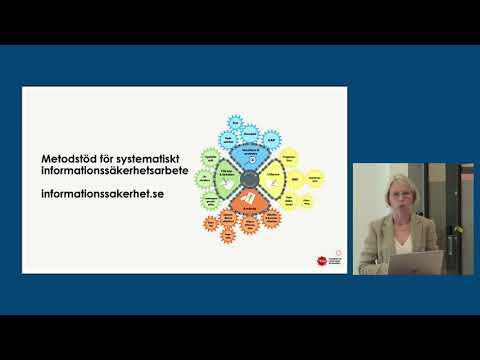 Marianne Rilde Björkman, MSB om vägledning och råd för att skydda viktig information i företag.