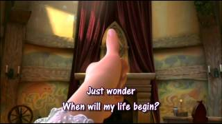 Tangled-When Will My Life Begin- Official Movie Version With Lyrics