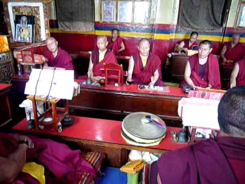 Swayambunath Monks