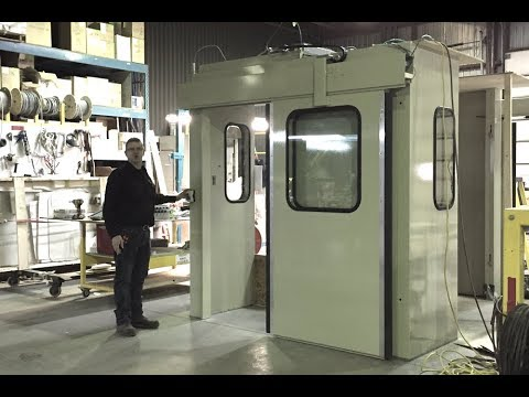 Acoustic Enclosure with Motorized Doors | Mecart