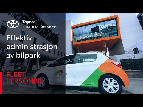 Biladministrasjon fra Toyota frigjør tid brukt på administrering av bilparken