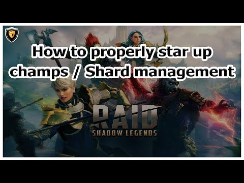 RAID: SL - How to properly star up champs / Shard management