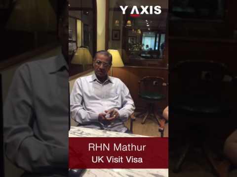 RHN Mathur UK visit visa PC Jyothi