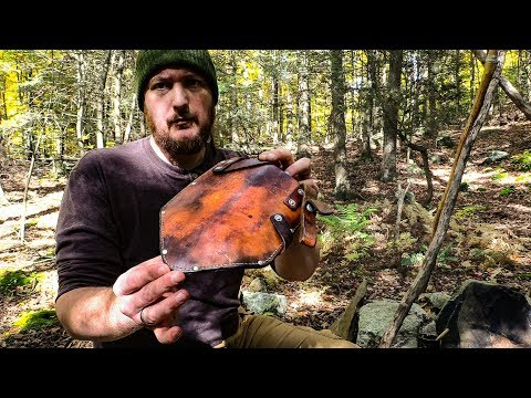 Quick Tip Bushcraft - Vintage WW2 Trench Shovel Sheath Restore | Self Reliance