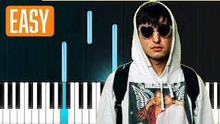 Joji - TEST DRIVE 100% EASY PIANO TUTORIAL