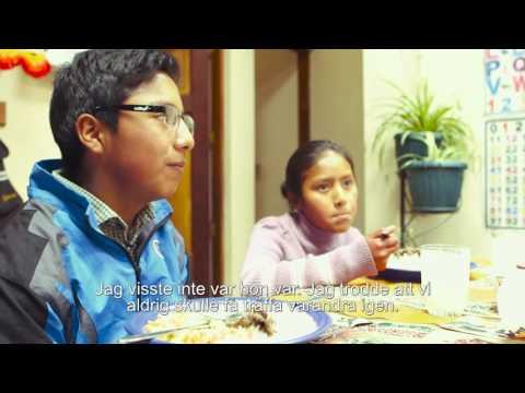 Emanuel återförenades med sin syster i barnbyn - SOS Barnbyar