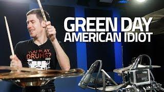 Green Day - American Idiot - Drum Cover (@ Drumeo Studios!)