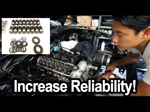 LS Engine Trunion Kit Install W/O Press  - Wide Body V8 FD RX7 Build Video Series 17