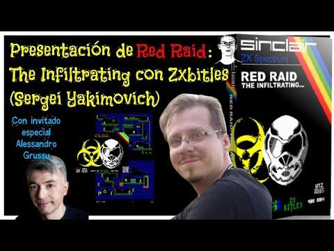 Presentación de Red Raid: The Infiltrating con Zxbitles (Sergei Yakimovich)