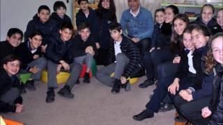 """Lectores de """"El Canario Polaco"""" entrevistan a su autor, Sergio Gomez agosto16"""