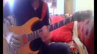 Raf Cosa resterà di questi anni 80 cover  guitar solo tribute Zoom G3X Sanremo Festival
