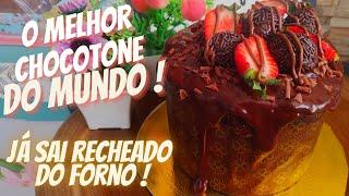 O MELHOR CHOCOTONE DO MUNDO ! JÁ SAI RECHEADO DO FORNO !