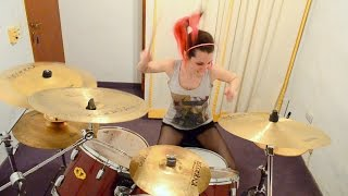 """Thy Art is Murder """"Reign of Darkness"""" Drum Cover (by Nea Batera)"""