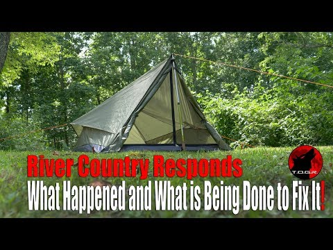 River Country Responds about the Trekker 2.2 Tent Failures