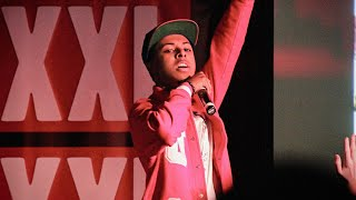 """Diggy Simmons Performs """"Shook Ones"""""""