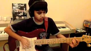 """Pink Floyd """"On The Turning Away"""" solo cover"""