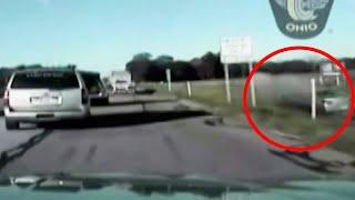 Da politiet ba tiåringen stoppe ristet han bare på hodet og tråkket på gassen