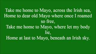 Take Me Home To Mayo with lyrics
