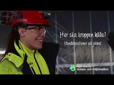 Hur ska kroppen hålla - handvibrationer på jobbet